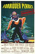 Pop Culture Graphics Forbidden Planet Poster Movie 11x17 Walter Pidgeon Anne Francis Leslie Nielsen Warren Stevens