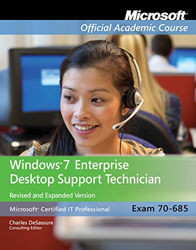Course, M: Exam 70-685 (Microsoft Official Academic Course Series)