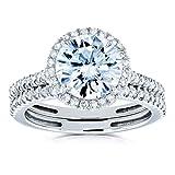 Best Kobelli Moissanite Wedding Rings - Kobelli Round Brilliant Moissanite Halo Bridal Wedding Rings Review