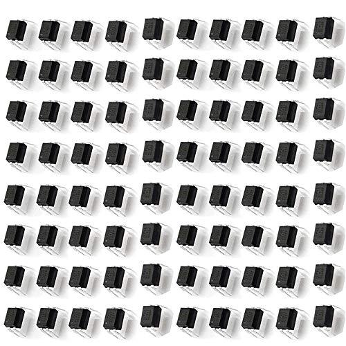 100 Stück PC817C Optokoppler IC DIP-4 PCB Tafel Durchgangsbohrung Foto Kuppler 2.54 mm Fotokopplers Abstand PCB kupferkaschierter Laminat-Optokoppler bitte Produktdetails überprüfen falls erforderlich