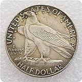 MOMOKY Copy 1635-1935 CONNECTICVT Commemorative Half Dollar USA Antique Coin-America Collection Liberty&Eagle 50 Cents Coin Replica Discovery Collection