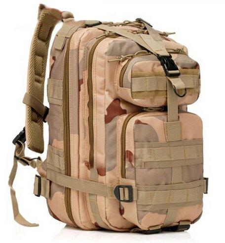 erolldeep Sport Outdoor confortevole impermeabile militare da assalto, tattico Molle Zaino da Campeggio Trekking, Arrampicata Bag