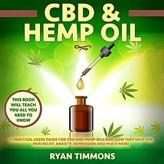 CBD & Hemp Oil audiobook cover art