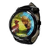 My Hero Academia Reloj con Pantalla táctil Led Resistente al Agua Reloj de Pulsera con luz Digital Unisex Cosplay Regalo Nuevos Relojes de Pulsera niños-A026