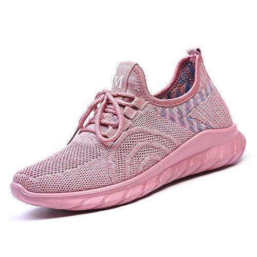 DKZK Zapatillas Deporte Mujer Hombre Zapatillas Correr Caminar Caminar Correr Zapatillas Deportivas Ligeras para Exteriores Correr AtléTicas Y Correr