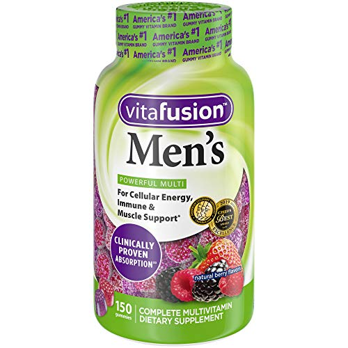 Vitafusion Men's Gummy Vitamins, 150 count, Multivitamin for Men