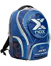 NOX AT10 Pro Series Mochila de pádel, Juventud Unisex, Azul, 50 x 35 x 20 cm