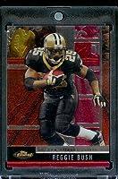 2008 Topps Finest Football Card - Reggie Bush - New Orleans Saints - NFL Trading Card