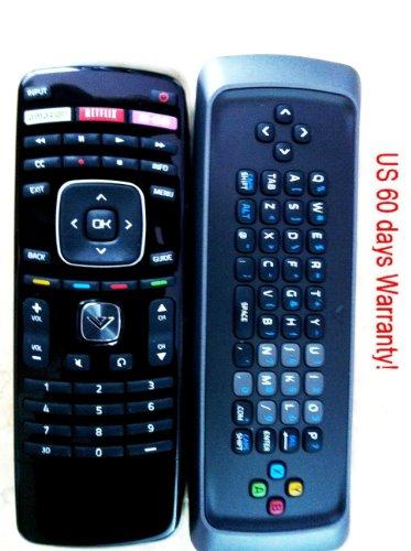 New Vizio 3d Smart Tv Remote Xrt303 3d Keyboard Remote for M3d550sl M3d470kd M3d650sv M3d550sl M3d470kde M3d550kde E500d-a0 E420d-a0 M3d470kd M3d550kd; E3d320vx E3d420vx E3d470vx M3d550kde M3d470kde