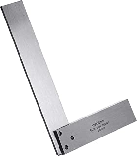Machinist Square Set Engineer 90 Right Angle Precision Ground Hardened Steel Angle Ruler 125x80mm
