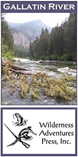 Gallatin River 11x17 Fly Fishing Map
