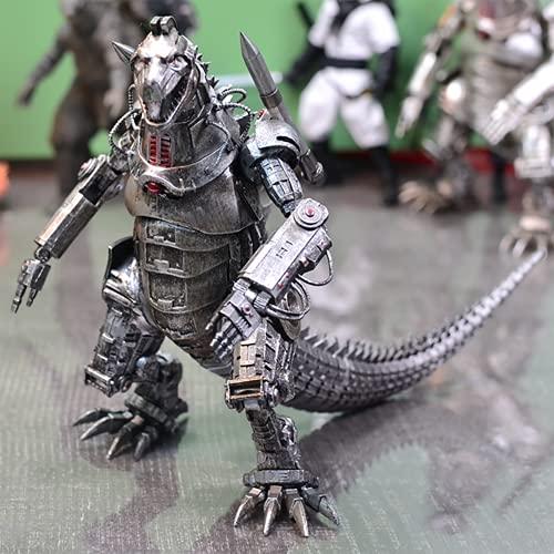 ZOULME 2021 Godzilla vs King Kong Figuras Juguetes - Godzilla Movie Monster Series Figuras de acción Toy, Mechagodzilla Statue, Antiguo Monster King de los Monstruos Giocattoli por 6 7 8 9