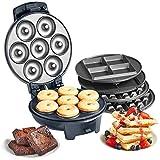 VonShef 3-in-1 Waffle Maker, Bro...