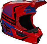 Fox Yth V1 Oktiv Helmet Red Yl