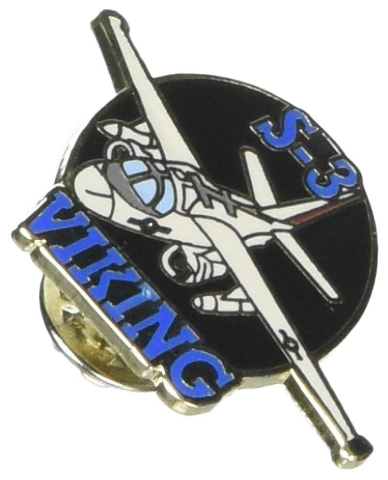 EagleEmblems P18039 PIN-APL,S-3 Viking,TOP-LF (1.5'') hvrfpuqdb2204