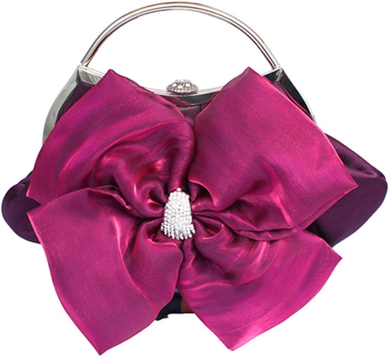 JSXL handtasche Damentaschen Satin Abendtasche Blaume Blaume Blaume Kaffee Rot   Elfenbein Hochzeit Taschenhandtasche Handtaschen Tasche Clutches Koffer Umhängetasche B07HX8XKL7  Elegant natürlich 656e52