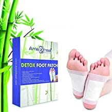 AMAZHEAL Premium Detox Foot Pad, Cleansing Toxin Remover Foot Patches, Organic Weight Loss Patch, For Men & Women (Pack of 30 Pec)