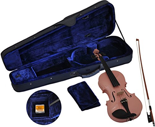 Steinbach 1/2 Geige im SET, pink, handgearbeitet