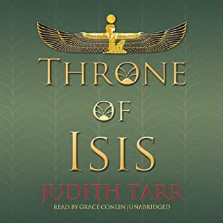 Throne of Isis audiobook cover art