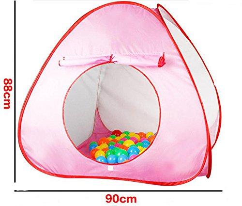 Kids 'pliante Safe Fun souple portable Tente de plage Game Play House (couleur aléatoire)