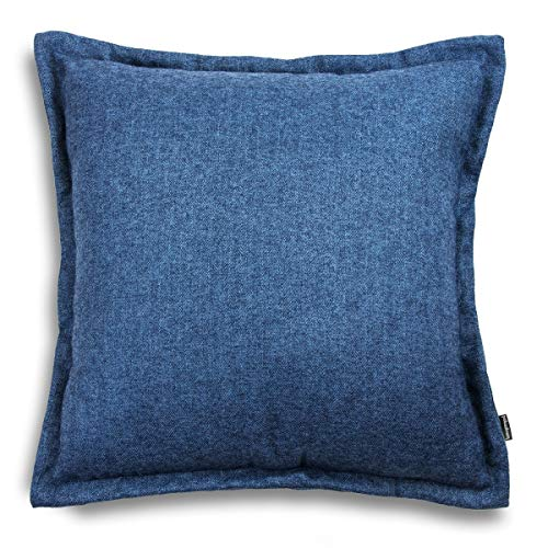 Tweed Cojín decorativo   Alta calidad   Cojín de sofá con relleno y funda   Cojín decorativo de relleno   Fabricado en la UE   45 x 45 cm
