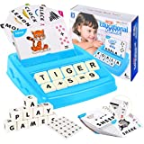 TAL ENNT Educational Toys for 3-7 Year Olds Boys Girls Spelling Games for Preschool Ages 2-8 Ideal Christmas Birthday Gift for 4 5 6 Year Olds Boys Girls Blue