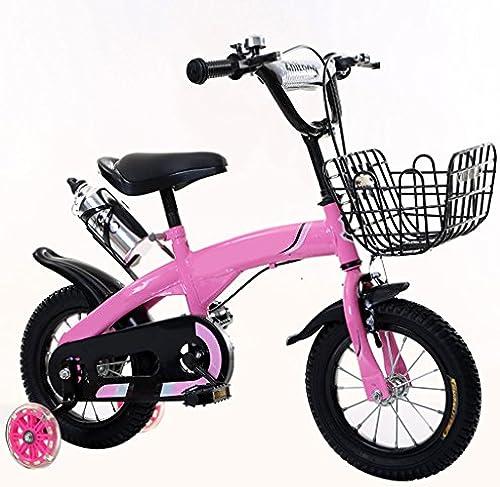 Unbekannt Kinderfahrrad 2-3-5-6-8 Jahre Alt Mountainbike Für Kinder Und Jugendliche 12 14 16 18 Zoll Mit Training Radkessel (Größe  16 Zoll)