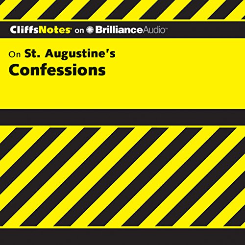 St. Augustine's Confessions: CliffsNotes cover art