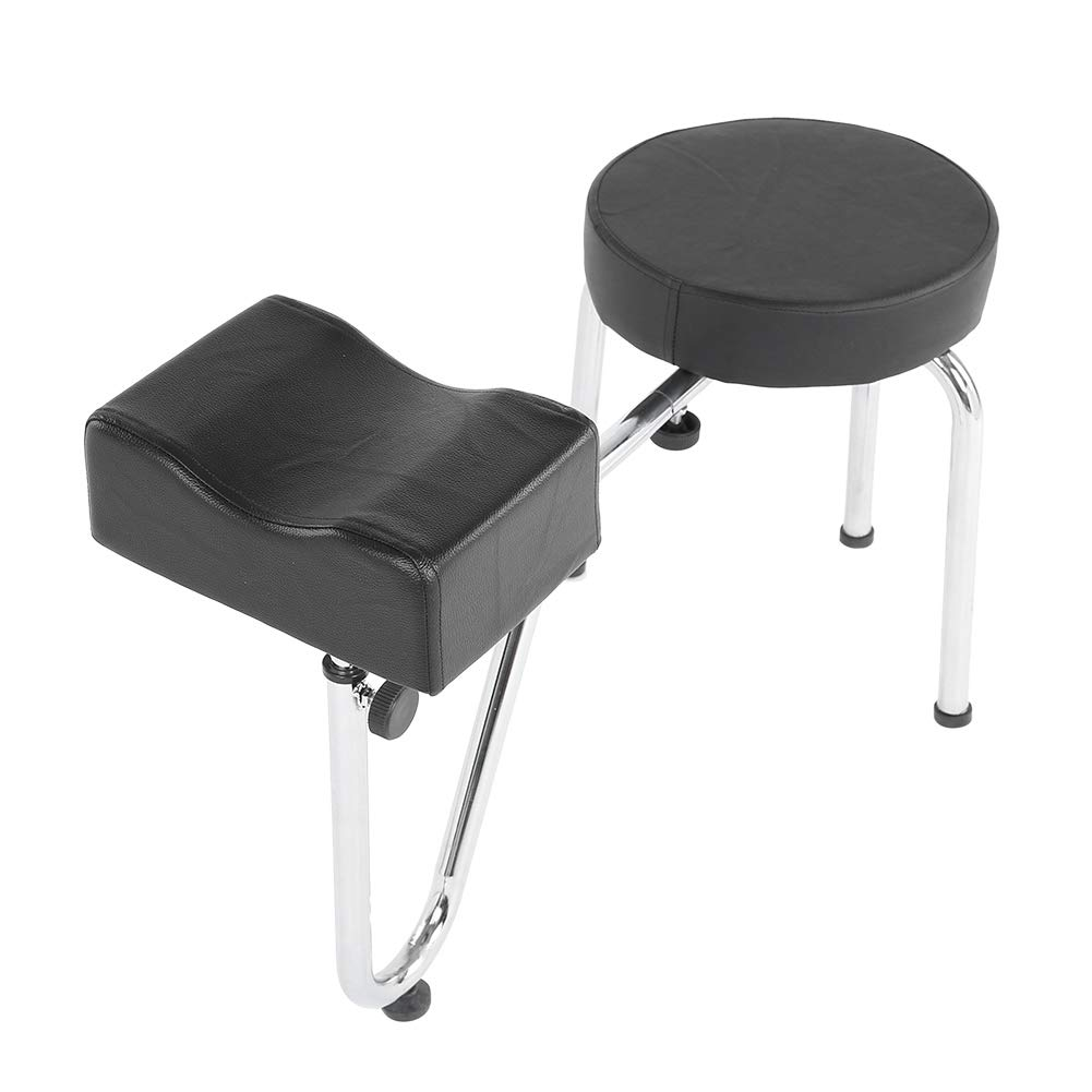 VBESTLIFE Pedicure Chair Stool with Adjustable Raleigh Mall Footrest Height F Credence