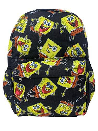 SpongeBob SquarePants 16' Large Allover Print Backpack with Laptop Sleeve - 20652