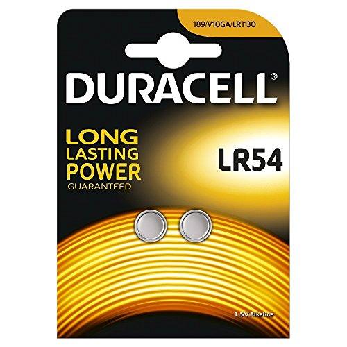 Duracell LR1130 - Batteria a bottone, alcalina, 1,5 V, 2 pezzi