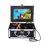 SISHUINIANHUA 7Inch LCD 1000TVL HD Underwater Fishing Camera Fish Detector DVR(20M)