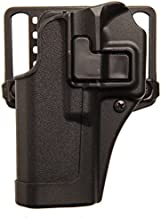 BLACKHAWK SERPA Concealment Holster - Matte Finish, Size 25, Right Hand, (Smith & Wesson M&P 9/40 & Sigma)