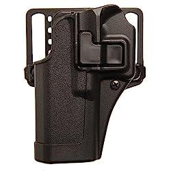 in budget affordable BLACKHAWK Serpa CQC Belt Loop  Paddle Holster (for Glock 26/27/33), Right Hand, Matte Black –…