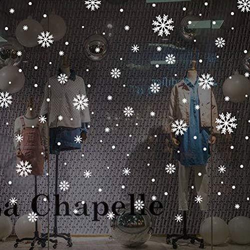Navidad copo nieve pegatinas silicona Santa Claus