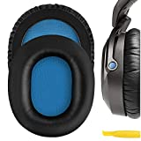 Geekria QuickFit Protein Leather Replacement Ear Pads for Sennheiser HD8 DJ Headphones Earpads,...