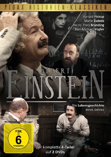 Die Lebensgeschichte eines Genies (Der komplette 4-Teiler) (2 DVDs)