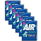 Vigorsol Air Action Gomme da Masticare senza Zucchero, Menta, 12 x 29g