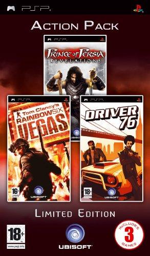 Ubisoft  Prince of Persia: Revelations + Tom Clancy's Rainbow Six: Vegas + Driver 76