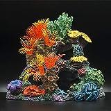 Coral artificial para acuarios, paisajismo de peceras, plantas de peceras de acuario, adornos de plantas de peceras no tóxicas, simulación vívida y realista de plantas acuáticas Decoración de acuarios