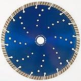 Diamant Trennscheibe Beton Granit 350/25,4 mm Flexscheibe Motortrenner Tischsäge