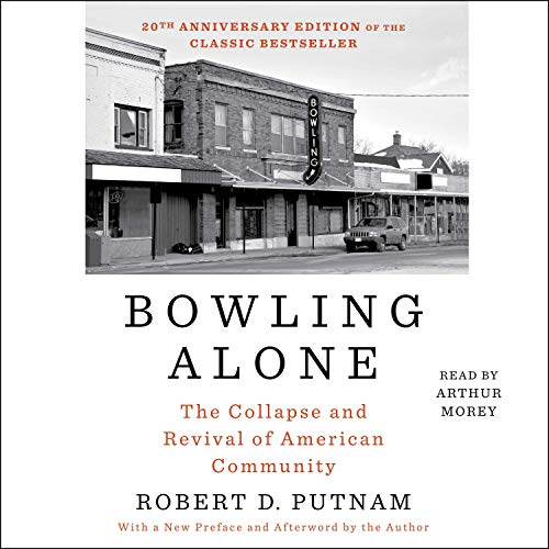 Couverture de Bowling Alone: Revised and Updated