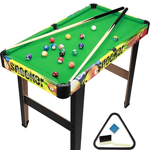 TY-Pool Table MMM@ Billardtisch Home Kindersportspielzeug Umweltfreundlich Amerikanischer Standard Billardtisch Qualitätsschläger Große Kapazität Ballnetz Rutschfester Bodenwinkel