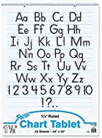 Becker's School Supplies Pacon Chart Tablet Packs 24 x 32 1? Ruling (Set of 4) [並行輸入品]