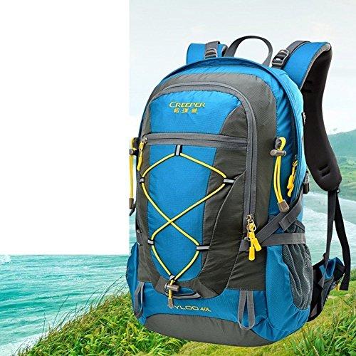 Sincere® Package / Sacs à dos / Portable / alpinisme Ultraléger extérieur sac à dos / Voyage / équitation ultra-léger sac à dos bleu 40L