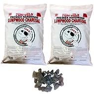 PENFUELS Hardwood Lumpwood Charcoal Barbecue