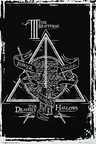 GB Eye Ltd, Harry Potter, Deathly Hallows Graphic, Maxi Poster, (61x91,5 cm)