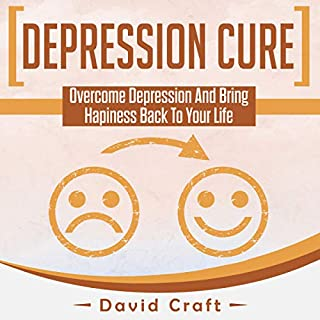Depression Cure audiobook cover art
