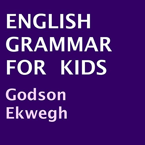 English Grammar for Kids audiobook cover art
