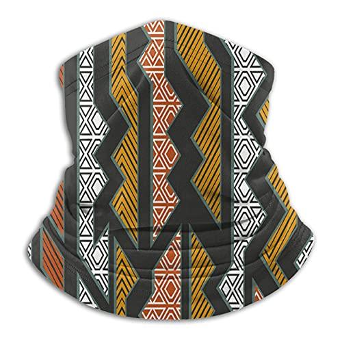 Más cálido cuello polaina creativo diseño tribal máscara facial para hombres mujeres bandanas para pesca caza deportes